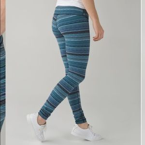 Lululemon Wunder Under Pant III in Space Dye Twist